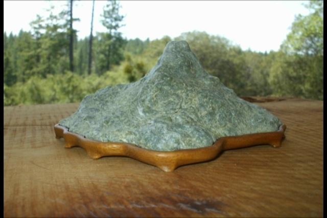 Botryoidal Jade Mountain Stone