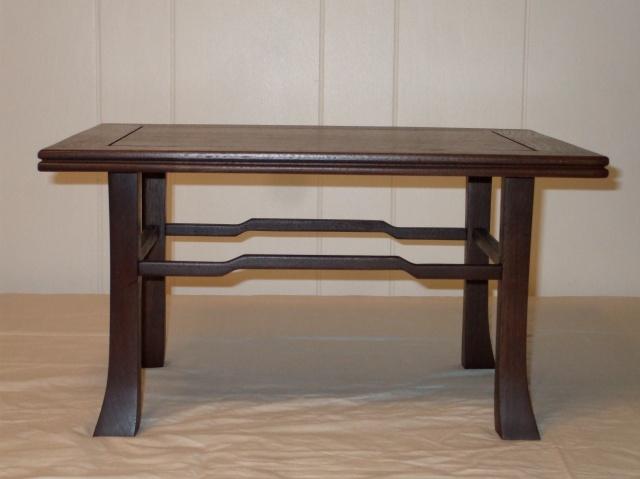"""Walnut wood stand #1 - 15"""" x 18 1/2"""" x 10"""" tall"""