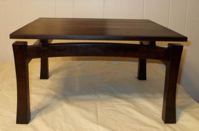 "Dark cherry wood Asian style- 15"" x 18"" x 12"" tall"