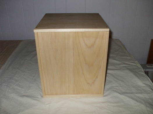 Box made with Poplar Wood