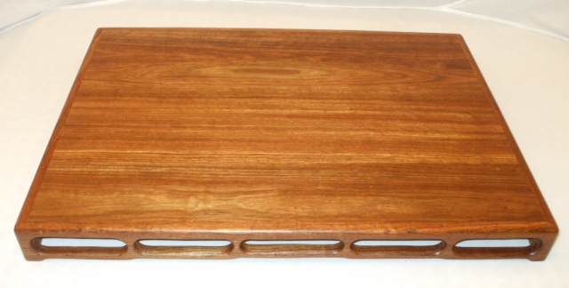 "#63 Caribbean Rosewood Stand 16"" x 22"" x 2"""