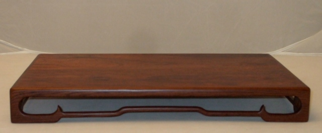 "#62 Indian Rosewood Stand 10.5"" x 16"" x 2"""