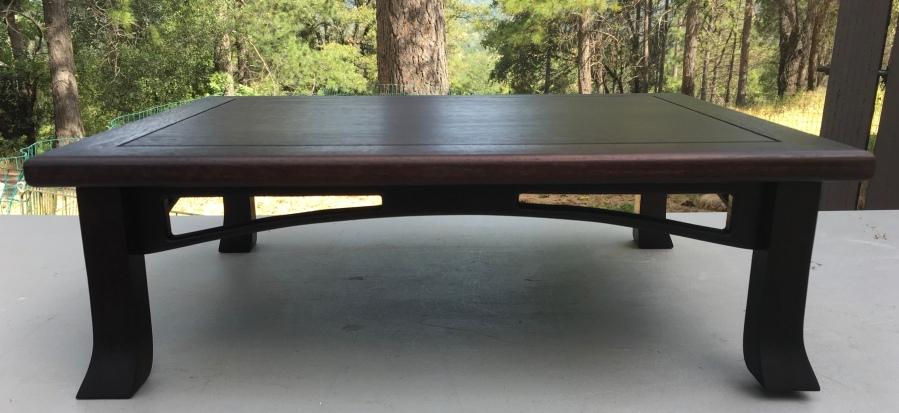 """#4 Arch Stand- 15"""" x 19"""" x 6"""" tall, walnut wood $300"""