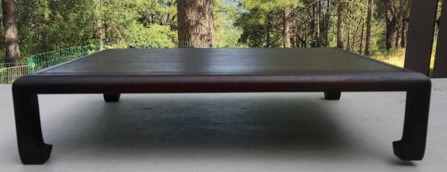 """#3 Stand- 13.5"""" x 16.5"""" x 3.5"""" tall, walnut wood   $200"""