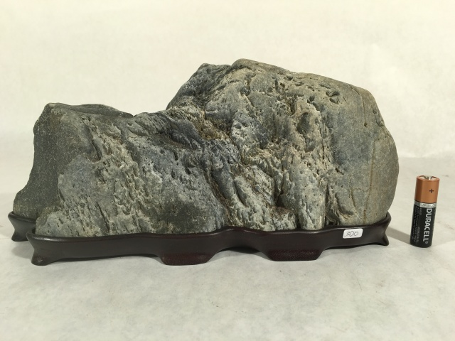 "#11 LARGE Mountain Stone- 11"" long x 5"" tall, VERY realistic mountain!, $300"