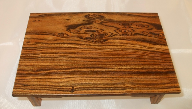 #15 Bocote Wood top