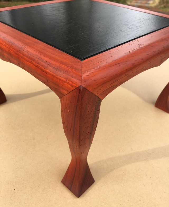 #132 triple mitered and carved legs